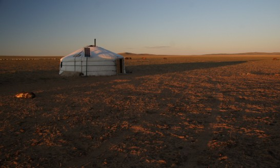 Nomad Camp Sunrise, Mongolia