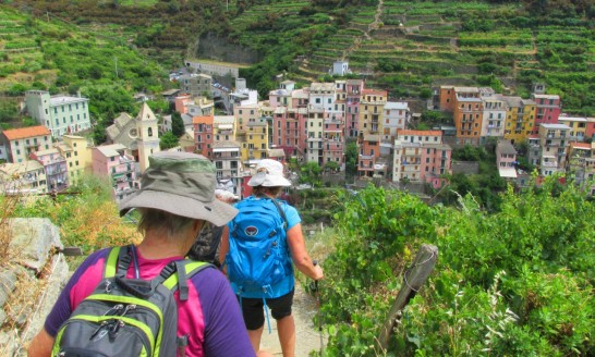Walking The Cinque Terre, Italy