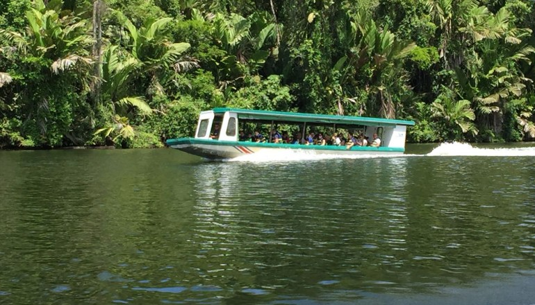 River tour, Costa Rica