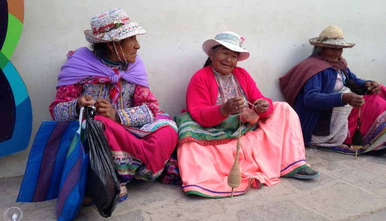 Colca Canyon locals, Peru, Patagonia Highlights