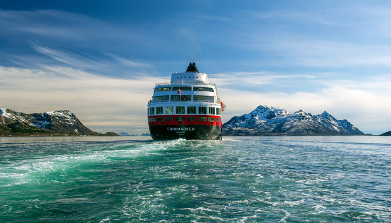 Hurtigruten Cruise line, Norway