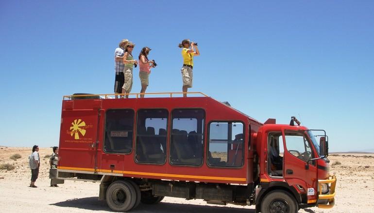 Sunway Safaris vehicle
