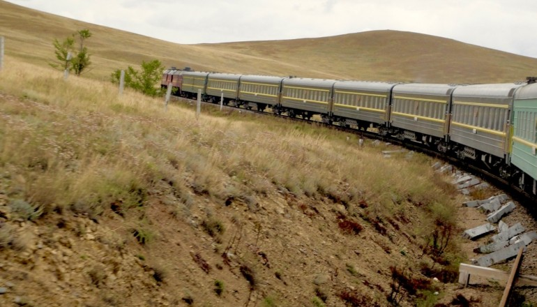 Train to Mongolia